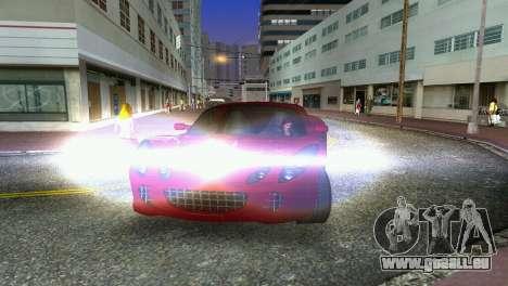 Lotus Elise für GTA Vice City Innenansicht
