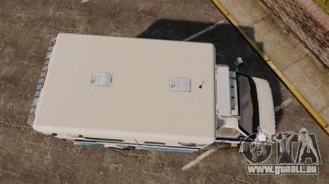 Ford E-350 Liberty Ambulance [ELS] pour GTA 4 est un droit