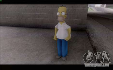 Homer Simpson pour GTA San Andreas