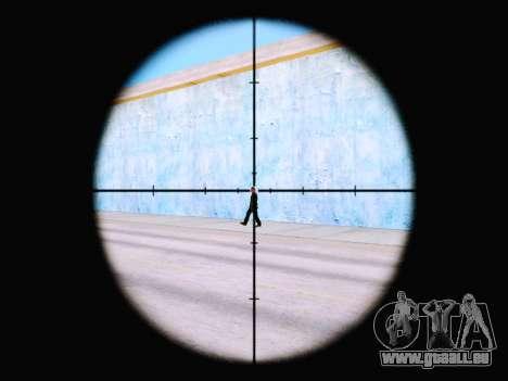 Le nouveau viseur de fusil pour GTA San Andreas deuxième écran