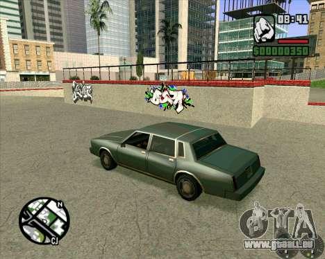Nouveau HD Skate Park pour GTA San Andreas quatrième écran