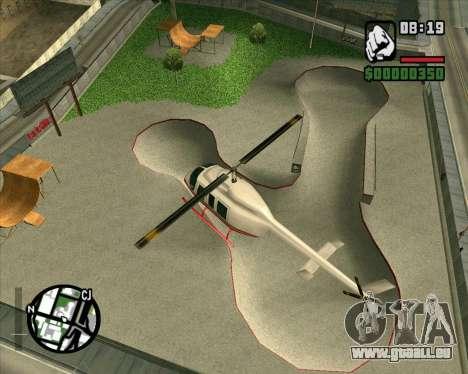 Nouveau HD Skate Park pour GTA San Andreas troisième écran