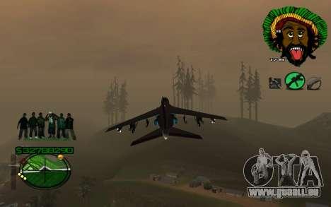 Mit Groove-HUD St. 4Life für GTA San Andreas zweiten Screenshot