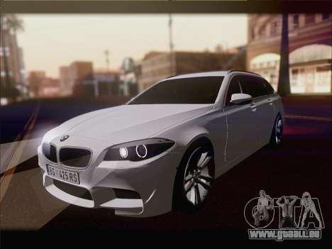 BMW M5 F11 Touring für GTA San Andreas rechten Ansicht