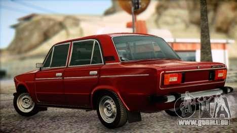 VAZ 21063 pour GTA San Andreas laissé vue