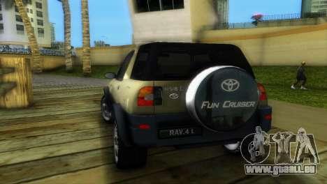 Toyota RAV 4 L 94 Fun Cruiser pour une vue GTA Vice City de la droite