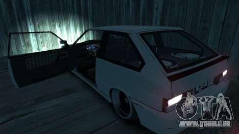 VAZ 2113 für GTA 4-Motor