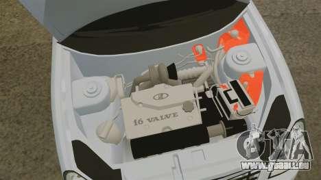 VAZ-2170 Priora für GTA 4 Innenansicht