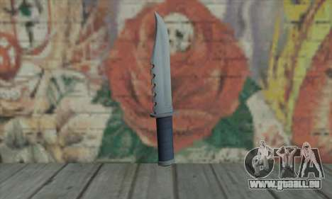 Couteau de GTA V pour GTA San Andreas deuxième écran