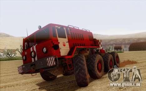 MAZ 535 pompier pour GTA San Andreas