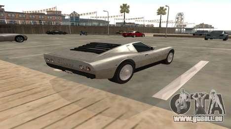 Monroe von GTA 5 für GTA San Andreas rechten Ansicht