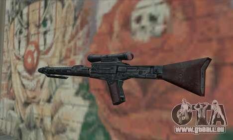 Fusil de sniper de Star Wars pour GTA San Andreas deuxième écran