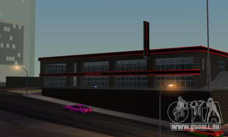 Neuer Showroom in Dorothi für GTA San Andreas her Screenshot