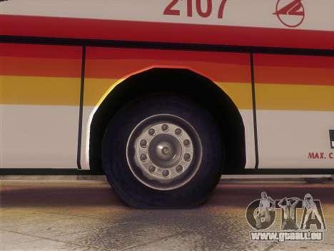 Man 14.220 (Santarosa Exfoh) - Victory Liner 210 für GTA San Andreas zurück linke Ansicht