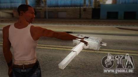 Uzi de Max Payne pour GTA San Andreas deuxième écran