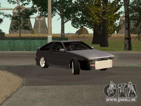 Toyota Corolla GTS Drift Edition für GTA San Andreas