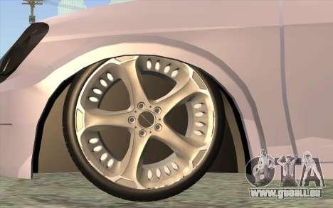 Chevrolet Celta 2010 pour GTA San Andreas sur la vue arrière gauche