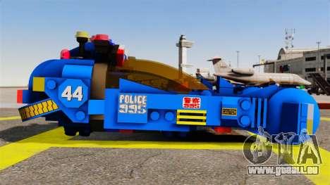 Lego Car Blade Runner Spinner [ELS] für GTA 4 linke Ansicht