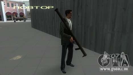Bazooka von MoH: AA für GTA Vice City zweiten Screenshot