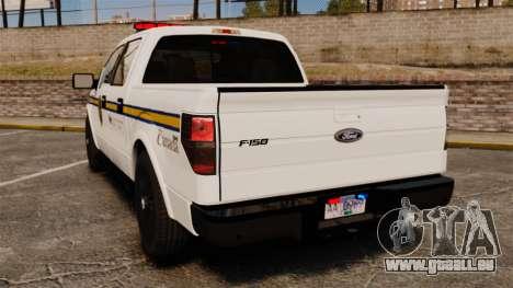 Ford F-150 2012 CEPS [ELS] pour GTA 4 Vue arrière de la gauche