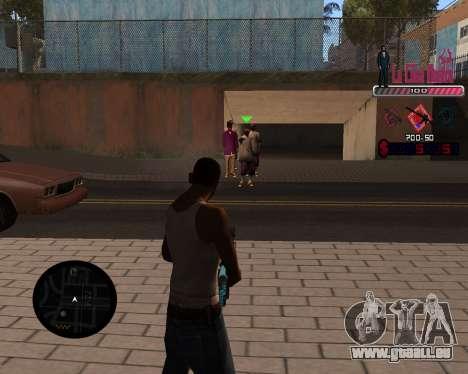 C-HUD LCN für GTA San Andreas zweiten Screenshot
