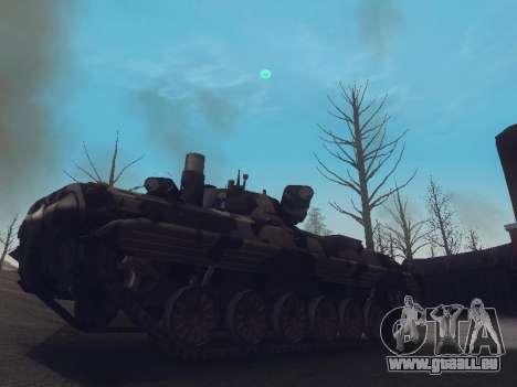 BMP-2 pour GTA San Andreas laissé vue