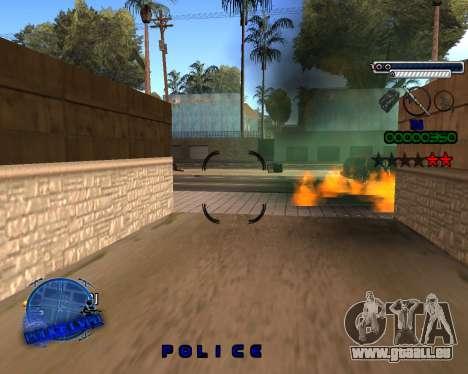 C-HUD Police LVPD für GTA San Andreas her Screenshot