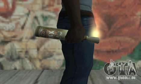 Molotow Cocktail von Saints Row 2 für GTA San Andreas dritten Screenshot