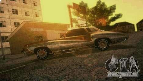 Chevy Monte Carlo Lowrider pour GTA Vice City vue latérale
