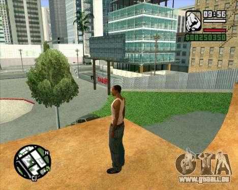 Nouveau HD Skate Park pour GTA San Andreas septième écran