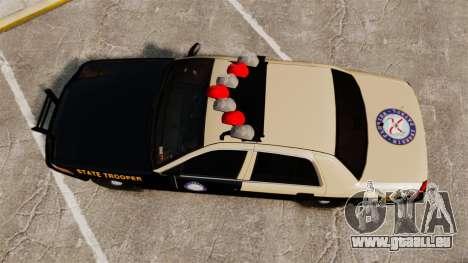 Ford Crown Victoria 1999 Florida Highway Patrol pour GTA 4 est un droit