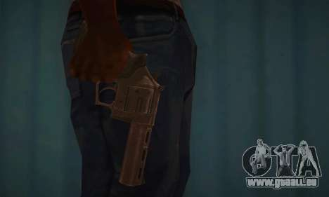 Revolver MR96 für GTA San Andreas dritten Screenshot
