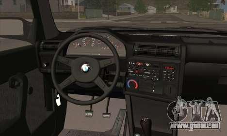 BMW M3 E30 für GTA San Andreas Motor
