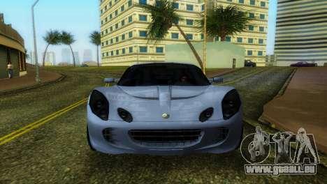 Lotus Elise für GTA Vice City linke Ansicht