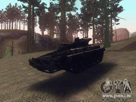 BMP-2 pour GTA San Andreas vue arrière