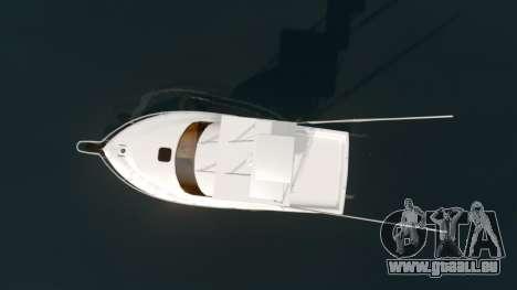 Sport fishing yacht für GTA 4 rechte Ansicht