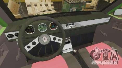 Renault 12 Toros 2 pour GTA 4 Vue arrière