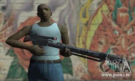 Fusil de sniper de Star Wars pour GTA San Andreas troisième écran