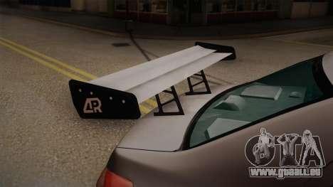 Toyota Vios Slalom Edition für GTA San Andreas Rückansicht