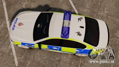 BMW M5 Greater Manchester Police [ELS] für GTA 4 rechte Ansicht