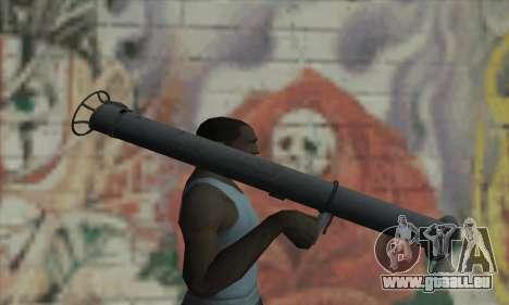Bazooka pour GTA San Andreas troisième écran