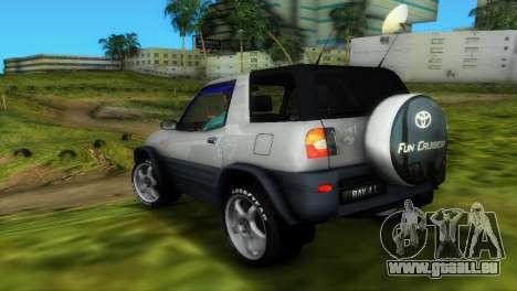 Toyota RAV 4 L 94 Fun Cruiser für GTA Vice City obere Ansicht
