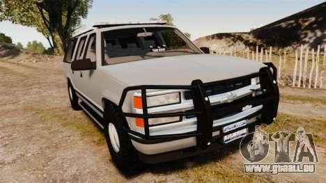 Chevrolet Suburban 1999 Police [ELS] für GTA 4