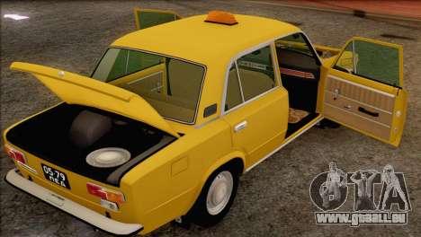VAZ 21011 Taxi für GTA San Andreas Räder