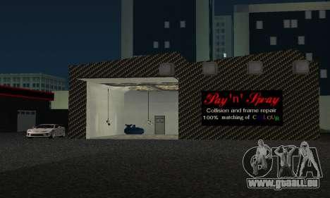 Neuer Showroom in Dorothi für GTA San Andreas