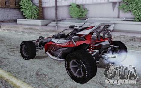 XCelerator Buggy XL pour GTA San Andreas laissé vue