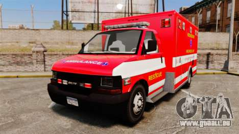 Brute Woonsocket Fire Medic Unit [ELS] pour GTA 4