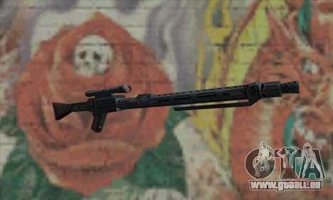 Fusil de sniper de Star Wars pour GTA San Andreas