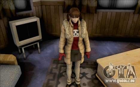 Lei de Dead or Alive 5 pour GTA San Andreas deuxième écran