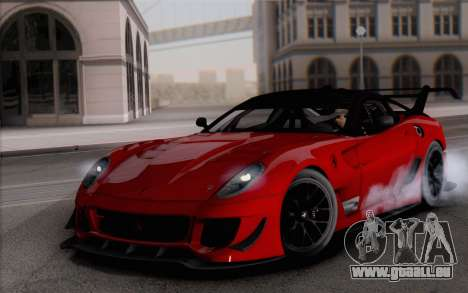 Ferrari 599XX Evolution für GTA San Andreas